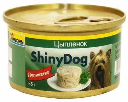 Влажный корм для собак Gimpet Shiny Dog с ципленком и тунцом, 85г фото