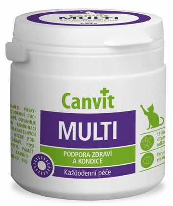 Витамины для кошек Canvit Multi, 100табл. фото