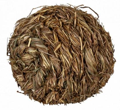 61825 Шарик травяной со звонком 10 см фото
