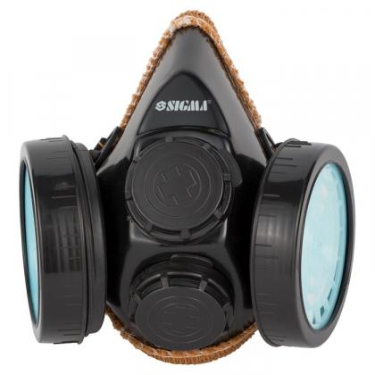 Респиратор противопылевой (2 фильтра), TM Sigma, 9422201-0597 фото