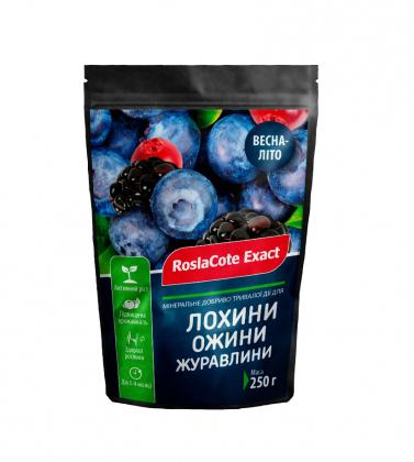 Комплексное минеральное удобрение для голубики, ежевики,клюквы, 250г, NPK 16.9.12, 3-4м,  Эверрис (Everris), RoslaCoteExact фото