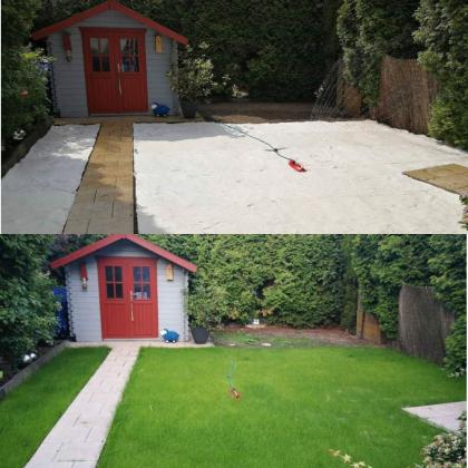 Биомат Зеленый газон, 1.2 х 10м, Green Lawn фото