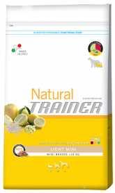 Сухой корм для взрослых собак мелких пород с избыточным весом Trainer Natural Super Premium Adult Light Mini, 800г фото