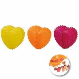 Игрушка для собак в виде сердечка для лакомств Karlie Flamingo Good4Fun Heart Refillable, резина, 5х5х4см фото