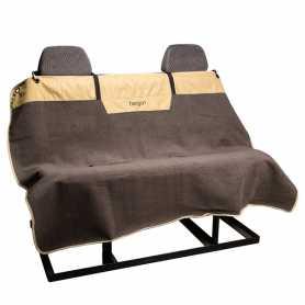 Накидка для перевозки собак на задних сидениях автомобиля Bergan Microfiber Auto Bench Seat Protector, бежевый фото