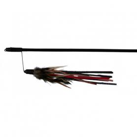 4550 Палочка Трикси с перьями 50 см  фото