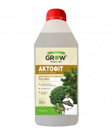 Биоинсектицид Актофит для декоративных растений, 0.9л, ТМ Grow