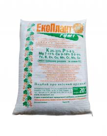 Органическое удобрение Экоплант Гуми, 20кг фото