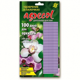 Комплексное минеральное удобрение в палочках для орхидей 100 дней, 12шт, NPK 10.10.10, Agrecol (Агрекол), 404 фото