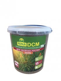 Органо-минеральное удобрение для хвойных растений, NPK 6.3.20, 900г,  ДСМ(DCM) Осень, ТМ Росла фото