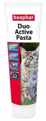 Пищевая добавка для кошек Beaphar Duo Active Paste Cat, 100 г фото