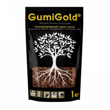Гумат калия концентрат Гуми голд (Gumi Gold), 1кг фото