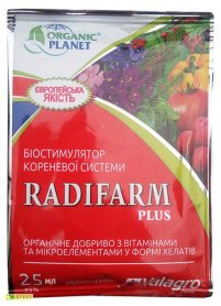 Биостимулятор роста корневой системы (укоренитель) Radifarm+ (Радифарм+), 25мл, Valagro (Валагро)