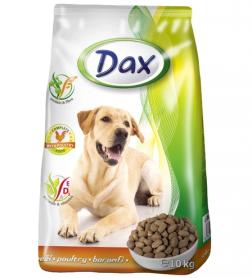 Сухой корм для собак Dax с птицей, 10кг фото