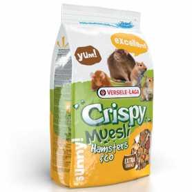 Корм для хомяков, крыс, мышей, песчанок 1кг Versele-Laga Crispy Muesli Hamster
