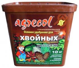 Комплексное удобрение Агрекол Осень для хвойных растений, 10кг фото