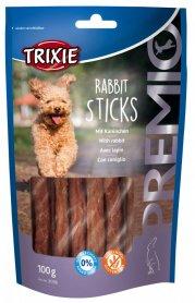 31709 Лакомство для собак Трикси Premio Rabbit Sticks кролик 100 г фото