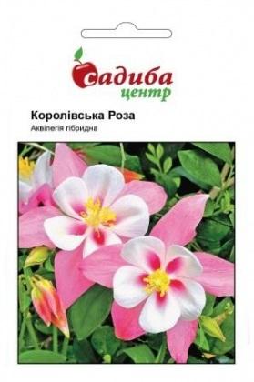 Семена аквилегии Королевская роза, смесь, 0.1г, Hem, Голландия, Садиба Центр фото