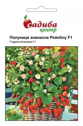 Семена клубники ананасной Рейнбоу, 10шт, Hem, Голландия, Садиба Центр фото