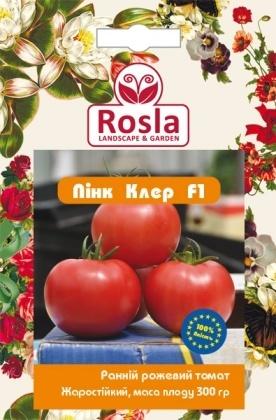 Семена томата Пинк Клер F1, 8шт, Nickerson-Zwaan, Голландия, Семена TM ROSLA (Росла) фото