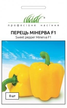 Семена перца желтого Минерва F1, 8шт, Nong Woo Bio, Корея, Професійне насіння фото
