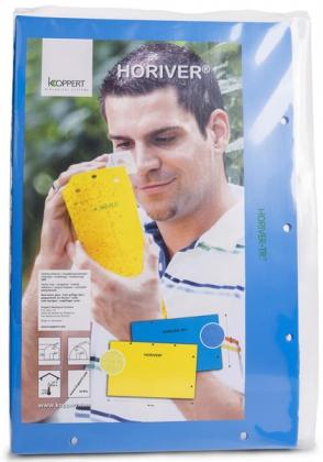 Ловушка клеевая световая для теплиц, 12шт, 25х40, синяя, Koppert фото