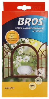 Сетка антимоскитная для окон и дверей, 150х180 мм, Bros фото