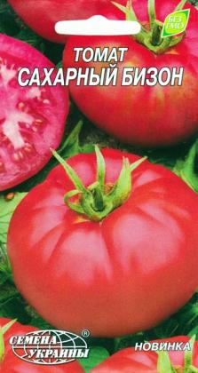 Семена томата Сахарный бизон, 0.1г, Семена Украины фото
