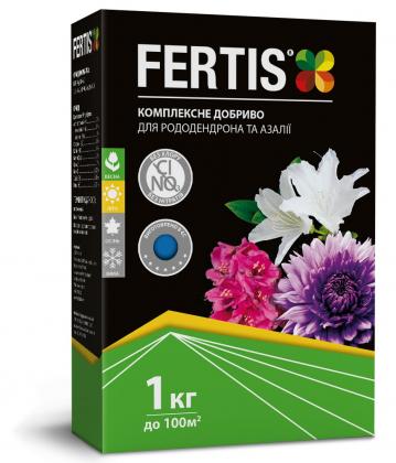 Комплексное минеральное удобрение для рододендронов Fertis (Фертис), 1кг, NPK 12.8.16+МЕ фото