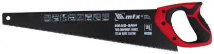 Ножовка по дереву, 500 мм, 7-8 TPI, зуб-3D, MTX, 235519 фото