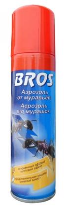 Аэрозоль против муравьев, 150мл, Bros фото