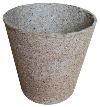 Стаканчик торфяной круглый Jiffy (Джиффи), 6x6см, 50шт, TM ROSLA (Росла) фото