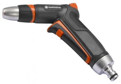 Пистолет для полива Premium + коннектор с аквастопом, Gardena, 18305 фото