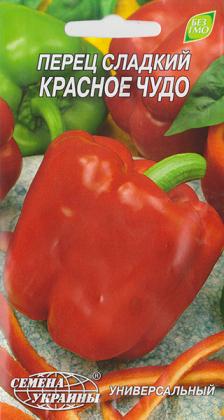 Семена перца Красное Чудо, 0.3г, Семена Украины фото