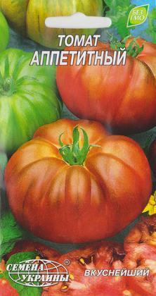 Семена томата Аппетитный, 0.1г, Семена Украины фото