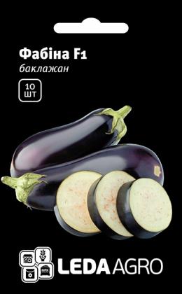 Семена баклажана цилиндрического Фабина F1, 10шт, Clause, Франция, семена Леда Агро фото