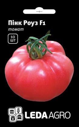 Семена томата Пинк Роуз F1, 10шт, Yuksel, Турция, Семена Леда Агро фото