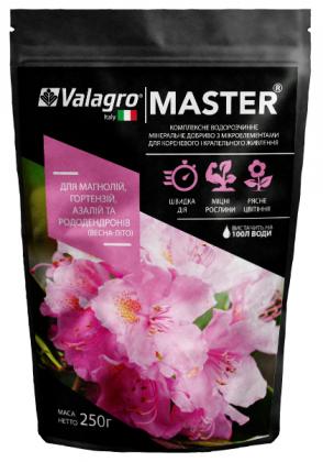 Комплексное минеральное удобрение для магнолий, гортензий, азалий и рододендронов Master (Мастер), 250г, Весна-Лето, NPK 13.40.13, Valagro (Валагро) фото