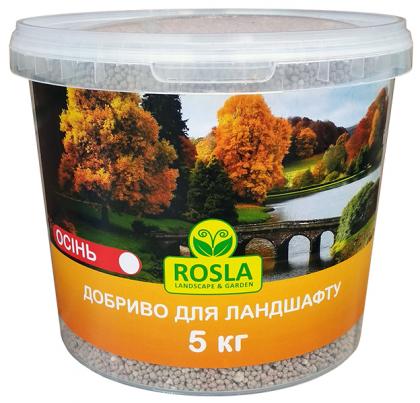 Комплексное минеральное удобрение для ландшафта TM ROSLA, 5кг, NPK 5.15.30, Осень, Arvi Fertis (Арви Фертис) фото