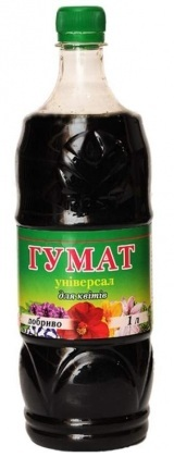 Органическое удобрение для цветов Гумат, 1л фото