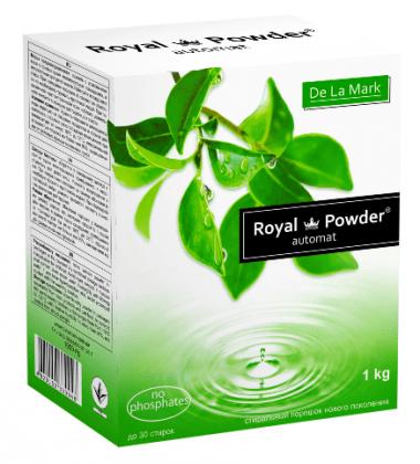 Бесфосфатный стиральный порошок универсальный, 1кг, Royal Powder фото