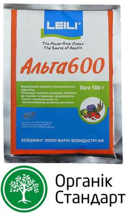 Органический биостимулятор роста Alga 600 (Альга 600), 100г, Leili (Леили) фото