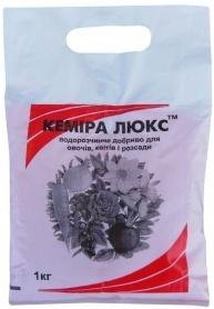 Комплексное минеральное удобрение Кемира Люкс, 1кг, NPK 14.11.25 фото