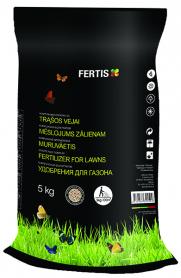 Комплексное минеральное удобрение для газона Fertis (Фертис), 5кг, NPK 17.6.11+МЕ фото