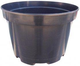 Горшок для рассады, F29, 10л, 285x230, черный, Kloda (Клода) фото