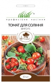 Семена томата для соления (Бинго F1), 10шт, United Genetics, Италия, Професійне насіння фото