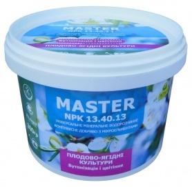 Комплексное минеральное удобрение для плодово-ягодных культур, бутонизация и цветение,  Master (Мастер), 300г, NPK 13.40.13, TM ROSLA (Росла) фото