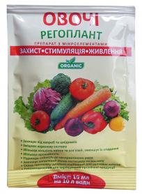 Органическое удобрение для овощей Регоплант, 10мл фото