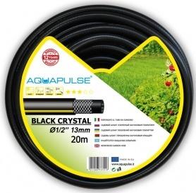 Поливочный шланг Black Crystal 13мм (1/2'), 20м, Аквапульс фото