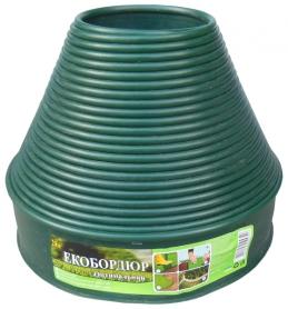 Бордюрная лента Экобордюр мини (зеленая), 11см х 20м фото